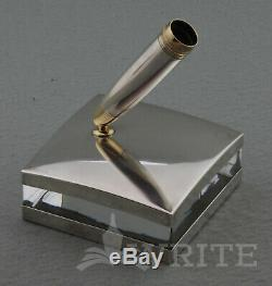 New Montblanc Meisterstuck Solitaire Desk Accessories Sterling Silver Boxed