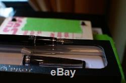 PILOT NAMIKI Falcon Black 14K Nib Rhodium Trim SF(Soft Fine) Nib with box