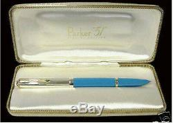 Parker 51 Empire State Special Edition Fountain Pen Medium Pt New In Box