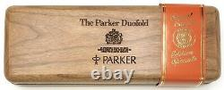 Parker Duofold Centennial Fountain Pen All Original With Both Boxes And Papers