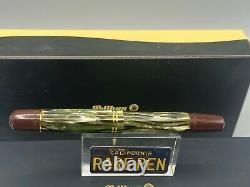 Pelikan M101N Fountain Pen Tortoise Shell 14K Fine Nib NEW Boxed