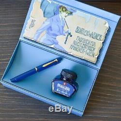 Pelikan M120 Special Edition Iconic Blue Fountain Pen + Ink Bottle Box Set