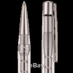 S. T. Dupont Defi Skeleton Ball Point Pen, Gun Metal Finish, 405727, New In Box
