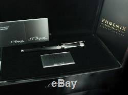 S. T. Dupont Line D Phoenix Rollerball Pen 142035, Lacquer & Palladium New In Box