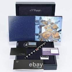 S. T. Dupont Samurai (samourai) Fountain Pen (2010) New In Box