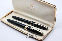 SHEAFFER PFM III AK15-11- Fountain Pen-14K GOLD Nib + IMPERIAL- From 60's-BOX