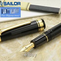 Sailor PROFIT Standard 1911 14K-GOLD Medium-Nib Display box Japan Fountain pen