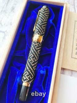 Sailor fountain pen Kosyu inden Urushi nib 14K MF box Set Vintage