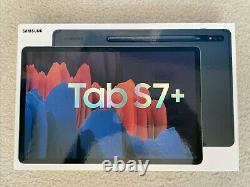Samsung Galaxy Tab S7+ (Plus) 512 GB Mystic Black. S PEN STYLUS INCLUDED IN BOX