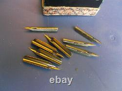 Spencerian Double-Elastic Pen Ivison Phinney & Co. No. 1 Ex-Fine Nibs with Box