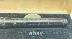 Vintage GRIESHABER BCHR Fountain Pen 14K Flex Nib HUMP FILLER Boxed NEAR MINT