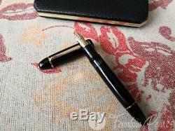 Vintage Montblanc Meisterstuck 149 Nib 18C 750 Tricolor Fountain Pen + Box Orig
