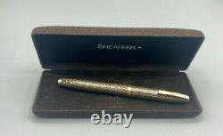 Vintage Sheaffer IMPERIAL Fountain Pen 14K Gold Filled 14K Fine Nib Boxed