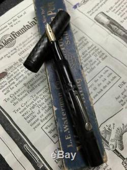 Vintage Waterman 52V RT HR Fountain Pen in Original Box #2 Flex Nib