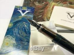 Visconti Van Gogh starry night fountain pen NEW + box