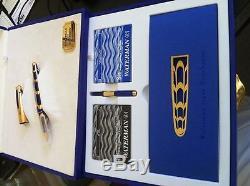 Waterman Boucheron Edson Limited Edition Fountain Pen In Box 1706/3741
