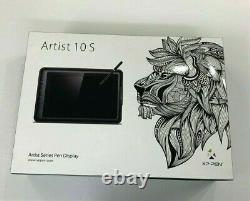 XP-PEN Artist 10S Graphics Drawing Pen Monitor NEW (Open Box)