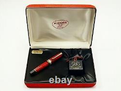 1992 Aurora 75 Years Limited Edition Stylo #3129 Box Encre De Papier Stylo Parfait Non Utilisé