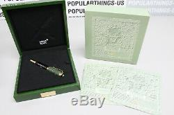 2002 Montblanc Qing Dynasty Limited Edition 0484/2002 Fountain Pen W Box / Aoc