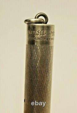 Antique Eversharp Sterling Silver Silver Wahl Style W 14k Gold Num 2 Wahl Nib Enduro Box