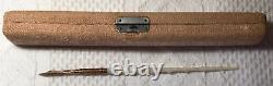 Antique Ferris & Willis Nacre Dip Pen Avec 10 K #2 Nib Boîte Originale