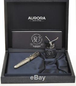 Aurora 80e Anniversaire L. E. 1999 Stylo Spéciale Nouvelle Vierge Dans La Boîte
