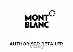 Authentique New Montblanc Meisterstück Classique En Boîte Noire Rollerball Pen 2865