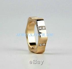 Bague Montblanc Star En Or Rose Avec Diamants 10388052 Taille 52, Nouvelle Boîte Us, Allemagne