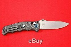 Benchmade 484-1 Nakamura Design En Fibre De Carbone Cpm-s90v Axe De Verrouillage Couteau Neuf Dans La Boîte