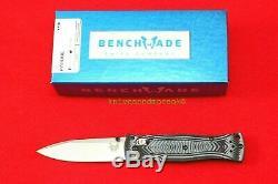 Benchmade 531 Mel Pardue Design Axis Lock, 154cm Couteau, Neuf Dans La Boîte