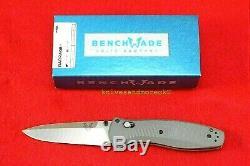 Benchmade 580-2 Osborne Barrage Design Cpm-s30v Assist Ressort Couteau, Neuf Dans La Boîte