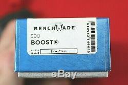 Benchmade 590 Boost Axis Aider À La Sécurité, Cpm-s30v Couteau, Neuf Dans La Boîte
