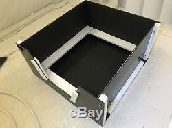 Boîte De Mise-bas Moyenne 40x40 Avec Forme + Rails Chien, Chiot, Stylo