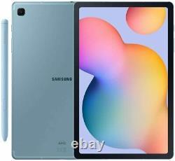Boîte Ouverte Galaxy Tab S6 Lite 10,4 S Stylo (64 Go) 4g Lte Gsm Débloqué P615 (blue)