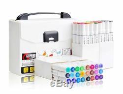Brosse Douce Sketch Marqueurs Stylo Permanent À Base D'alcool D'encre Art Marker New Box Set