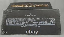 Caran D'ache La Rindya Platinum Limited Edition Fountain Pen New In Box 2012