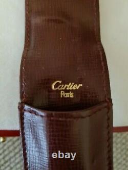 Cartier Stylo À Bille & Set Crayon, Flambant Neuf, En Boîte Avec La Paperasse