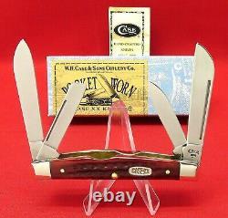 Cas XX 64052 Ss Old Red Bone 1999 Congrès, Mint Knife Original Box Item #00789