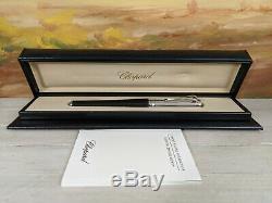 Chopard Racing Plume Palladium Moyen 18k Nib Fountain Pen, Nouveau Dans