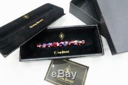 Conway Stewart Belliver, Ltd Ed 74/378 Nébuleuse, Fountain Pen Monnaie Et Boxed 2013