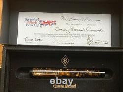 Conway Stewart Fontaine Noyer Stylo Coronet Nouveau Et Boxed