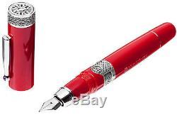 Delta Alfa Romeo Le Fountain Pen Nib Moyen Tout Neuf Dans La Boîte! Pdsf 795 $
