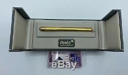 Elysee Allemagne Fountain Pen Or Orge Motif Monnaie Fine Nib Boxed