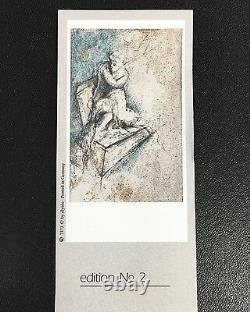 Elysee Vernissage Empreinte Edition N ° 2 Plume Nouveau Dans 1749/6000