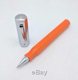 Faber Castell Ondoro Orange Roller Ball Pen Nouveau Avec La Boîte