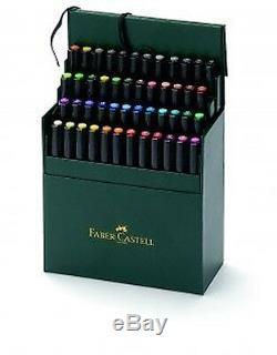 Faber Castell Pitt Artiste Stylos Brosse 48 Color Box Set