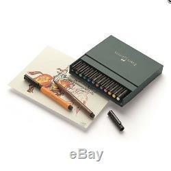 Faber-castell Pitt Artiste Pen Brosse Studio Box 12, 24, 48 Couleurs Dessin