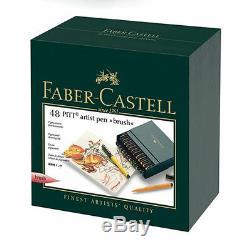 Faber-castell Pitt Artiste Pen Brosse Studio Box 48 Couleurs Professional 167148