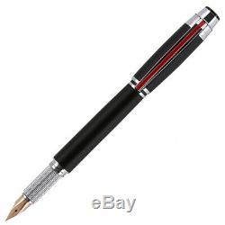 Hero Or 14k Stylo-plume Fine Nib Avec Boîte-cadeau, Matte Black Metal Pen Cadeau