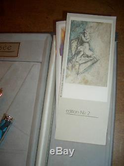 Impression 2 Elysée Fontaine Vernissage Pen Neuf Dans La Boîte Manfre Eberhard Art Pen